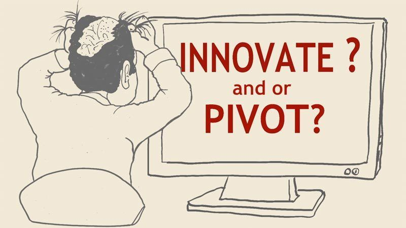 Illustration - Innovate and/or Pivot