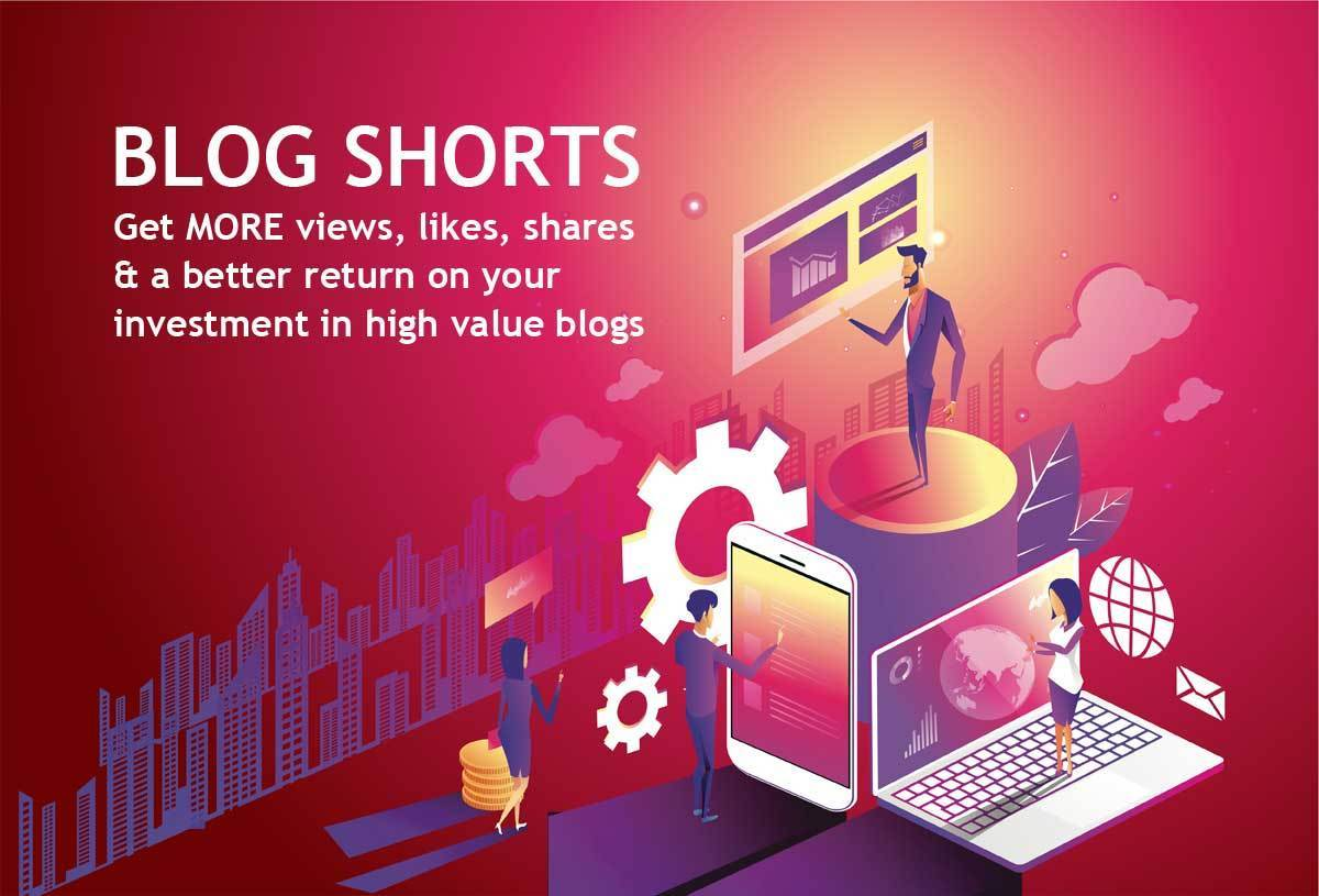 Graphic Illustration Business Blogging like Activity