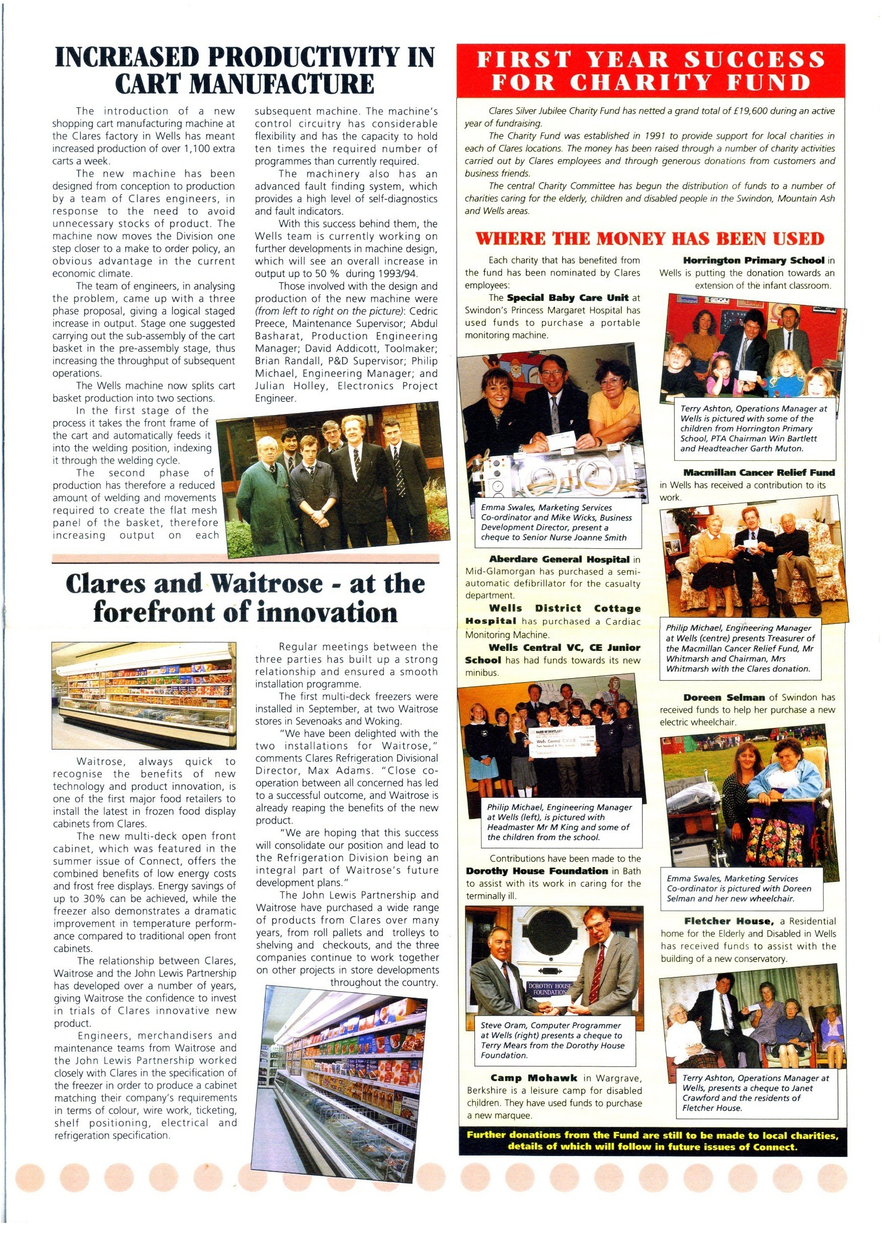 CLARES CONNECT NEWS