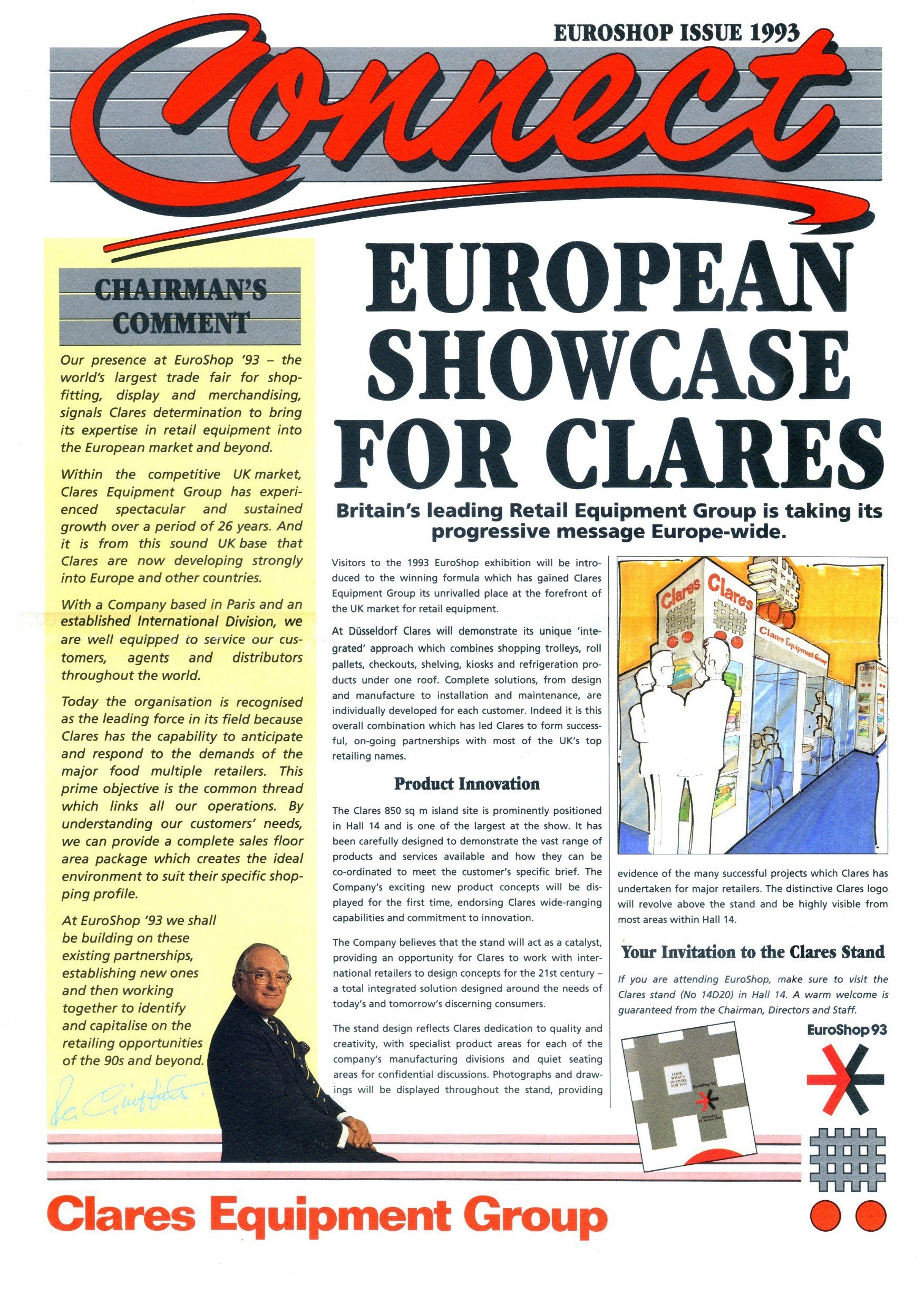 Clares Connect News - Euroshop 1993